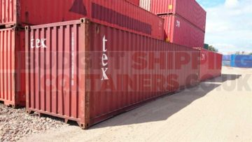 40ft used container glasgow