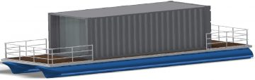 40 floating shipping container aft