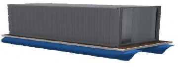 40 floating shipping container platforms