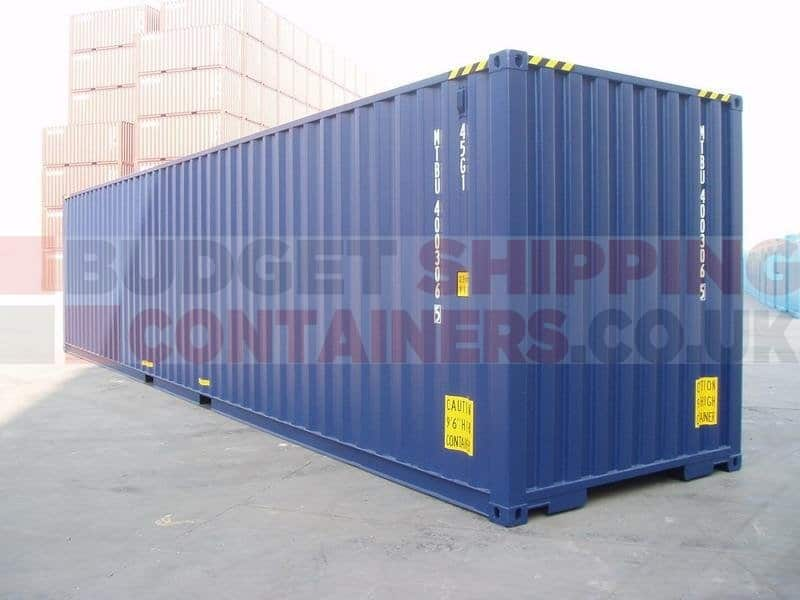 High Cube Shipping Container 800 x 600