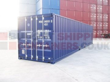 Types of shipping container for export use