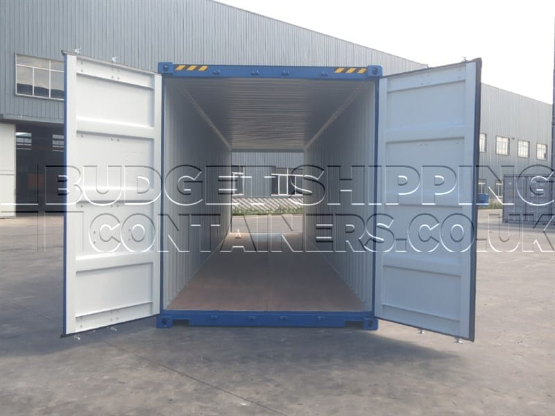 40ft High Cube Tunnel Containers (One Trip / New. Double Doors each end)