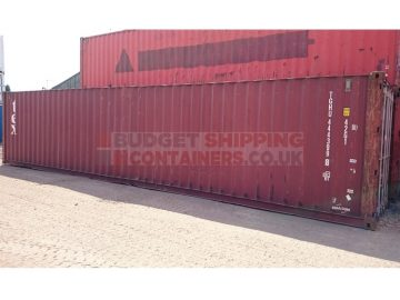 40ft used container