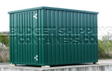4m x 2m flat pack container