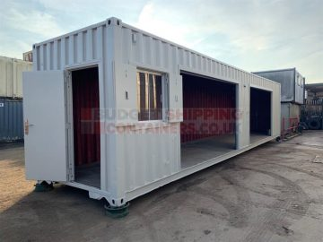 Can you turn a shipping container into a workshop?