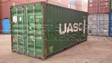 Green UASC 20ft Shipping Container