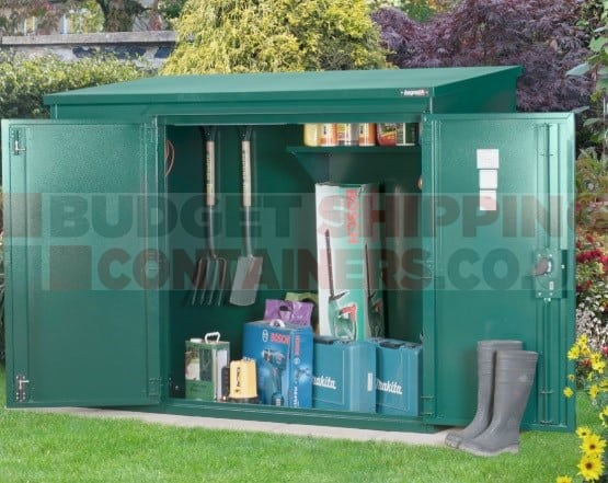 6ft X 3ft Annexe Metal Shed Container