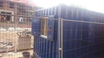 Shipping Containers for Building Sites