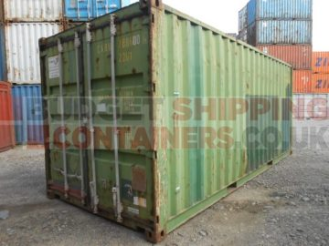 Typical used container