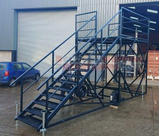 Shipping Container Staircases and Fabricated Products