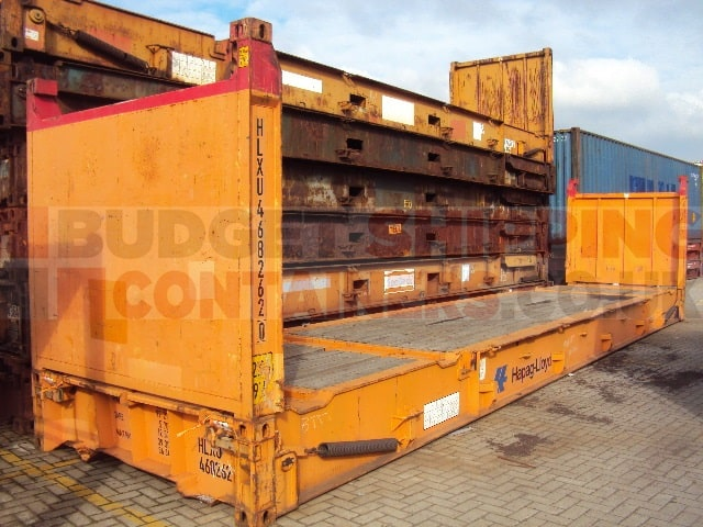 40ft flat rack shipping containers used. Black Bedroom Furniture Sets. Home Design Ideas
