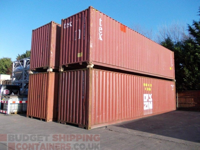 40ft high cube shipping containers used - 40ft shipping container home ...