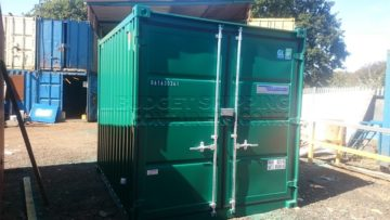Galvanised Containers