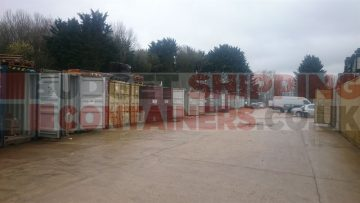 Shipping Container Site Clearance: Banbury, Oxfordshire