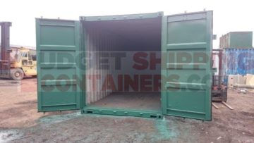 Storing Horse Tack in Shipping Containers