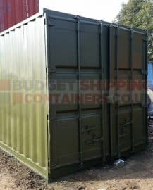 Storing Furniture in a Shipping Container
