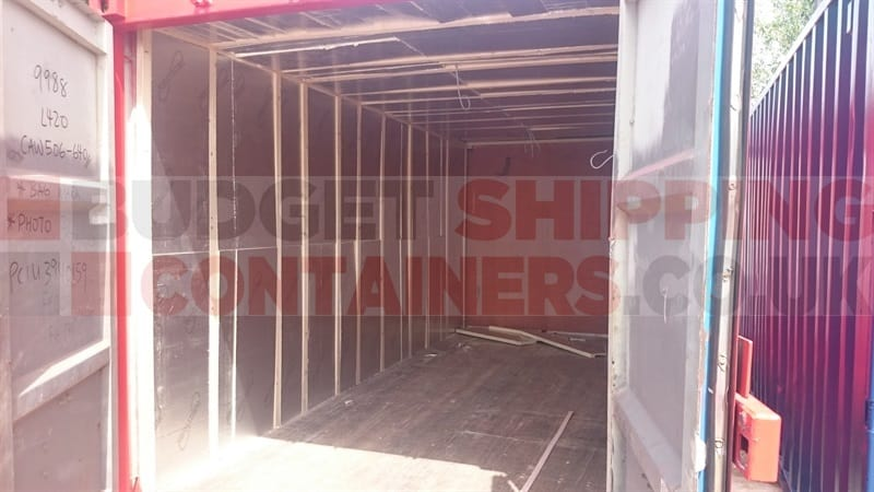 Lined and insulated shipping containers - Methods to insulate your shipping container home ...