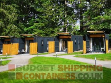 shipping container accommodation uses for shipping containers