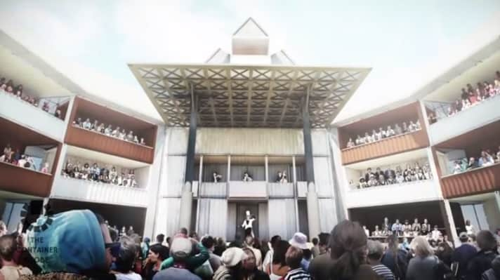 1001 Uses for a Shipping Container #160: A New Globe Theatre?