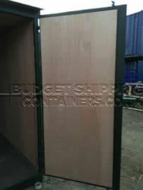 Lined Door