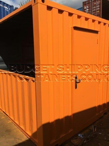 Shipping Container Side Removal Amp Reinforcement