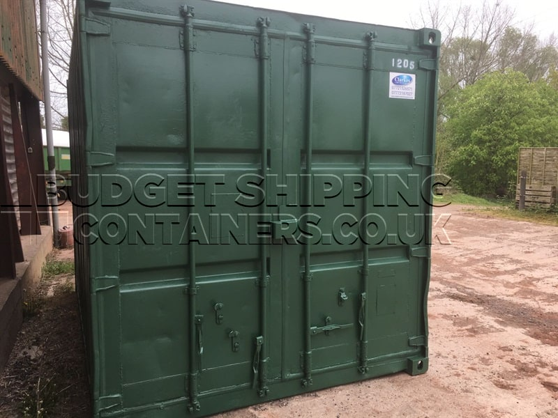 12ft x 12ft container with 10ft roller for 12 foot garage door for sale