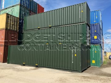new custom made 34ft shipping containers