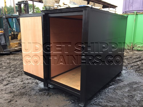 8ft Insulated Shipping Container Bike Store (refurbished)