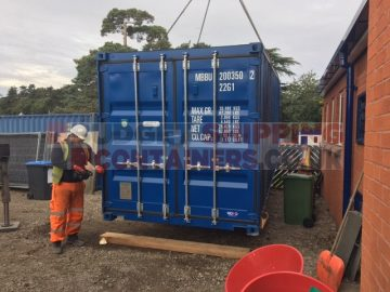 shipping container storage for schools uses for shipping containers