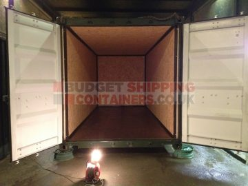lining and insulating shipping containers