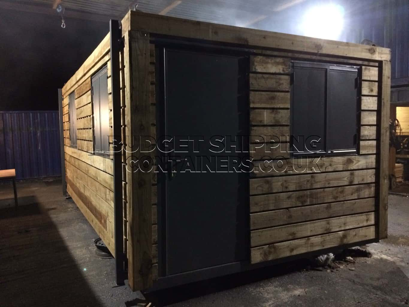 Cladded Shipping Containers