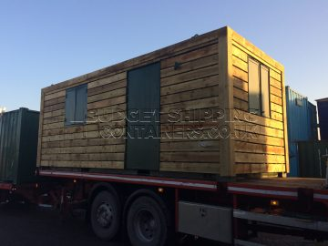 20ft Timber Clad Office