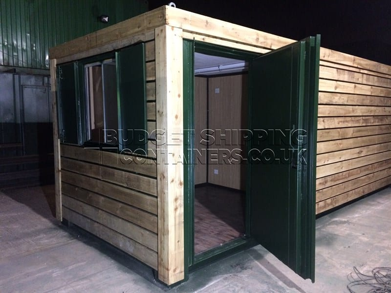 20ft Office and Storage 50/50 Split Section Container (Manchester)