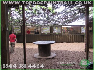 Shipping Containers for Paintball Fields