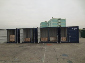 multistore shipping container