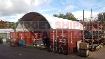 NEW PROFILE CONTAINER CANOPY 40FT