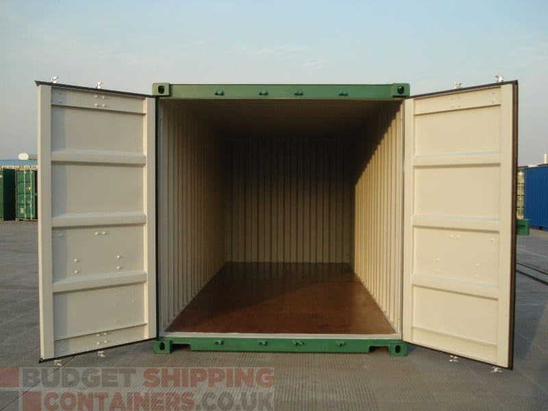 20ft shipping containers high spec new one trip - How to find shipping containers for sale ...