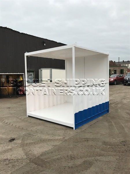 Smoking Shelters Product : Shipping container smoking shelters new