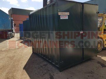 10ft Shipping Containers Birmingham (Flat Door Refurbished)