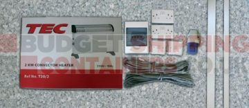 shipping container electrics