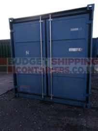 Used Galvanised 8ft container from self storage yard, faded paint otherwise VGC
