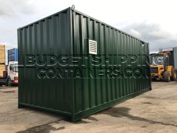 Ventilation Shipping Container