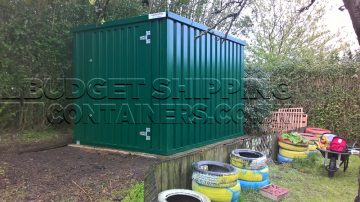 Flat Pack Storage Containers for Cobridge Community Group