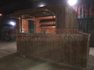Shipping Container Bar / Kiosk