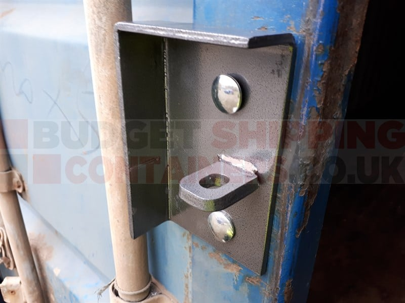 Cargo Container Security Lock Box W// Free Padlock,Bolts,Template /& Free Shipping