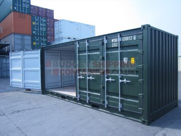 Shipping Containers for Storage of Personal Protective Equipment (PPE)