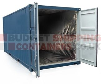 20ft shipping container insulation