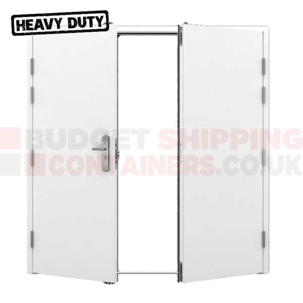 Heavy Duty Shipping Container (Double Leaf) Personnel Doors