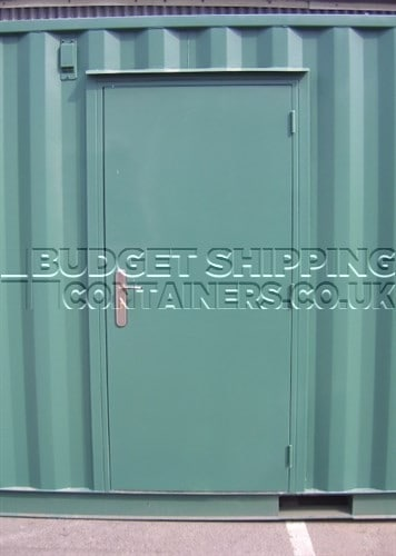 Shipping Container Kirncroft Personnel Door