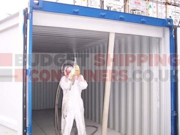 How do you Insulate a Shipping Container?